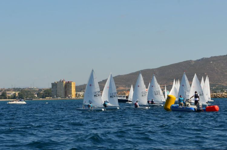 Radial, Laser, Sailing, Gibraltar, Start, Natwest International
