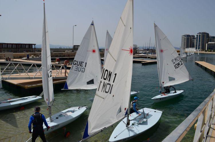 Radial, Sailing, Laser, Royal Gibraltar Yacht Club, Gibraltar