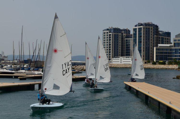 Island Games, Gibraltar, Sailing, Laser, Radial, Royal Gibraltar Yacht Club, Island Games 2019, Natwest International